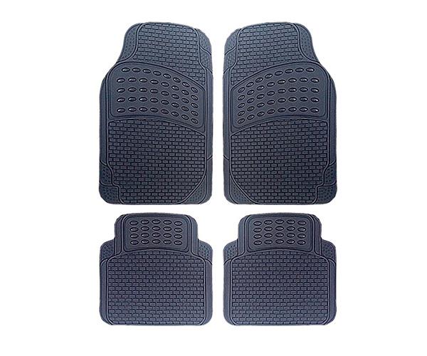 הוראות חדשות סט שטיחים גומי איכותיים דגם LUXUR - מבחר צבעים - 4111 - אוניברסלי BH-27